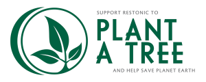 Restonic Plant-A-Tree logo