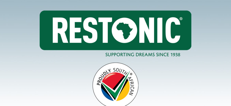 new Restonic SA logo