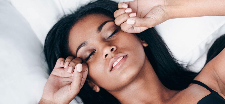 women and sleep
